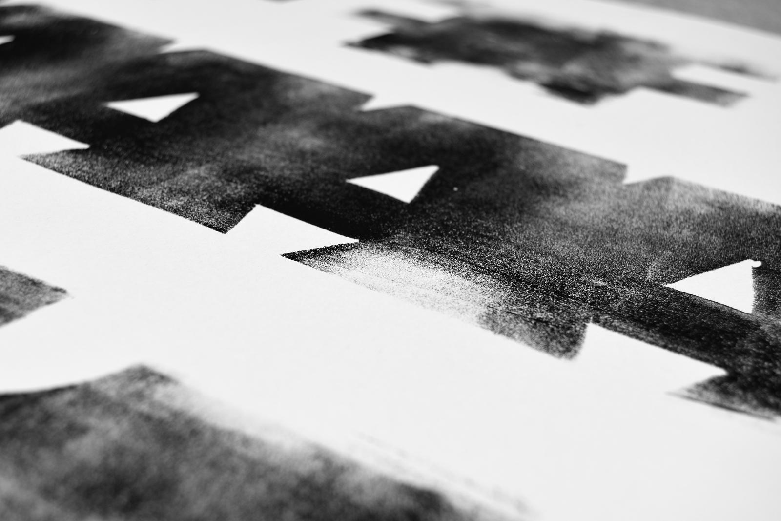 Print Believing is easy, Detail