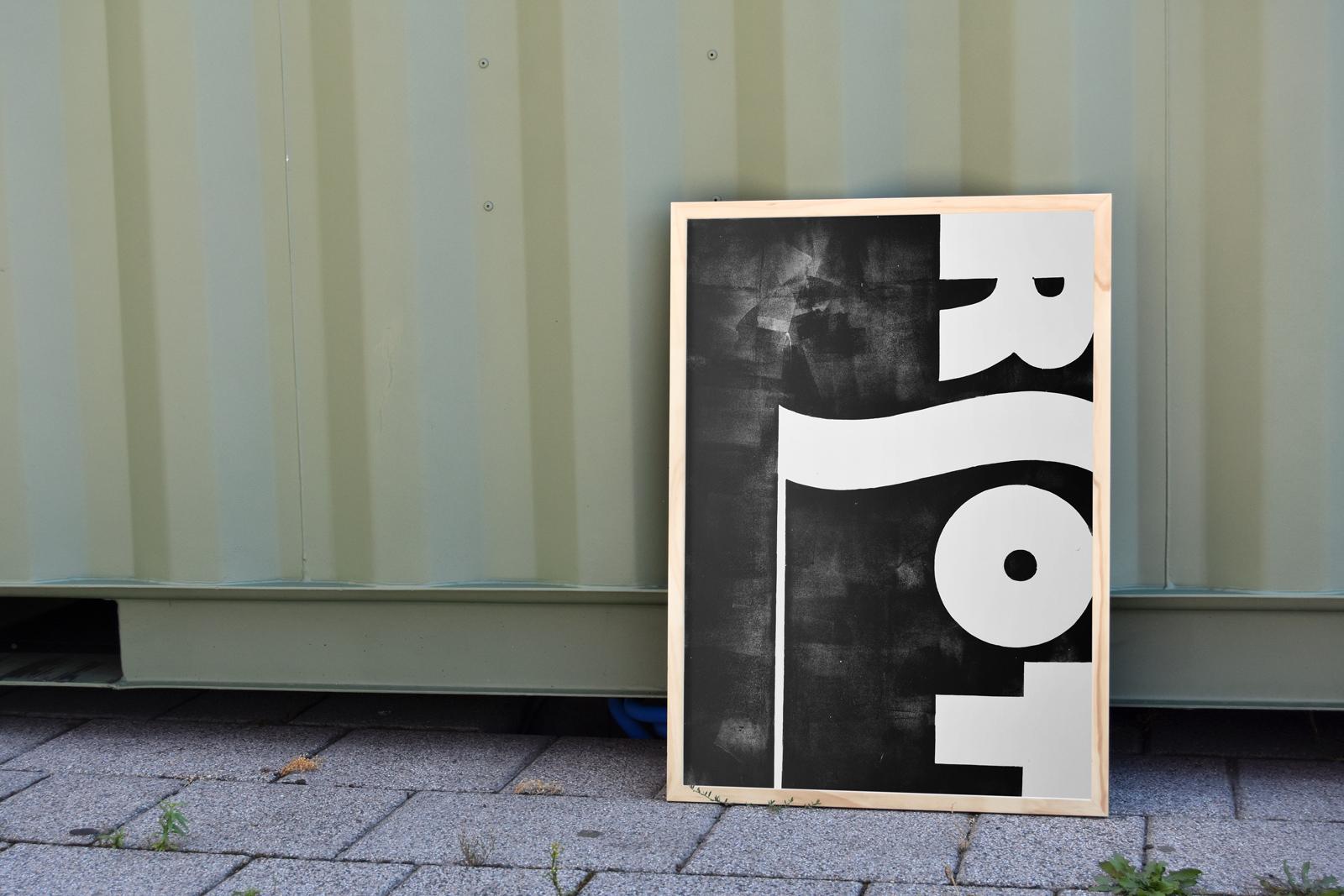Print Quiet Riot, 2016, Detail